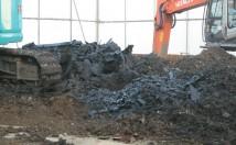 相続した土地に大量の産業廃棄物が!